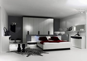 Knightsbridge bedroom furniture-Knightsbridge High Gloss Finish Bedroo